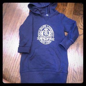 Ralph Lauren size 5 sweater hooded dress